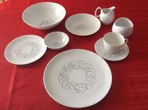 12 place china dishes and extras  made in GermanyAsking $400.00