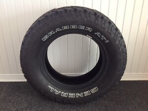 Spare tire  265/70R18 GENERAL GRABBER AT2