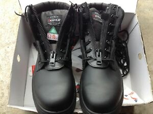 Cofra black safety shoe work boots