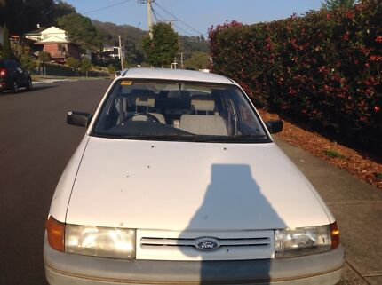 1990 Ford Laser Sedan Merewether Newcastle Area Preview