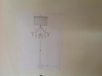 CHANDALIER FLOOR LAMP  ------ BRAND NEW ------ FREE DELIVERY