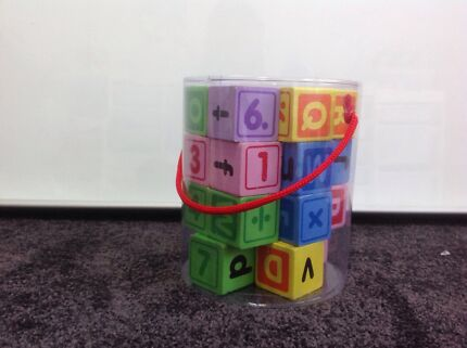 Number and Letter Blocks