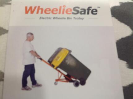 WheelieSafe Electric - Bin Trolley
