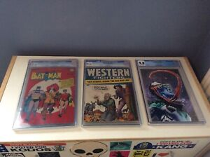 Selling Off 3 CGC Graded Comic Books 2 Golden Age Books