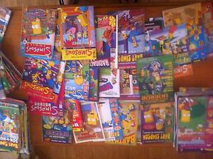 tons of Simpsons comics Brentwood Melville Area Preview