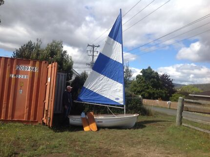 Sailing dinghy Cygnet Huon Valley Preview