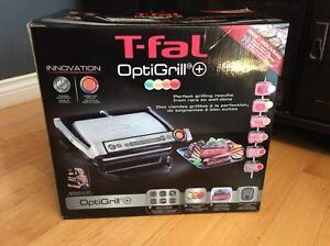 T-fal optigrill plus +