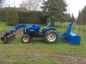 Tracteur new holland TC40 DA 2005