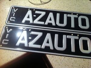 SLIM LINE NUMBER PLATE Mont Albert North Whitehorse Area Preview