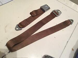 Xw xy ford genuine front or rear brown middle lap sash seat belt Irymple Mildura City Preview