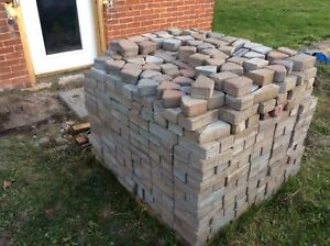 Free pick up of unwanted pavers or patio stones