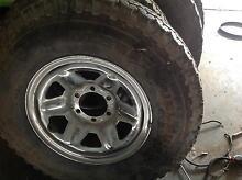750x16 4x4 tyres rims Toyota six stud Andrews Farm Playford Area Preview