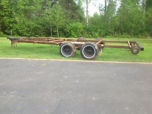 Trailer frame 8ft. Wide X 21ft. Long