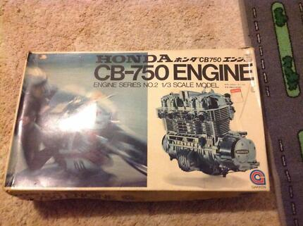 Honda CB-750 Engine engine series No 2 1/3 scale model