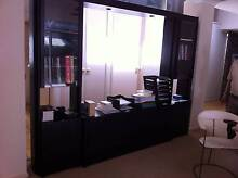 Wall Cabinet / Room Divider solid timber Camberwell Boroondara Area Preview