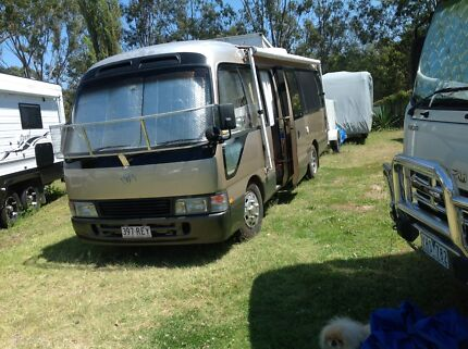 TOYOTA COASTER MOTORHOME Arundel Gold Coast City Preview