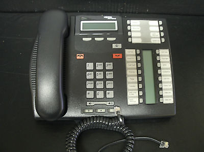 Nortel Norstar T7316e Charcoal 16 Button Display Speaker Telephone Nt8b27jaaa A