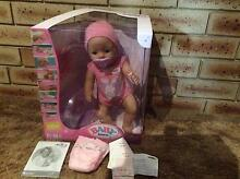 Baby Born Doll. Eats, drinks and goes on the toilet. Almost new Safety Bay Rockingham Area Preview