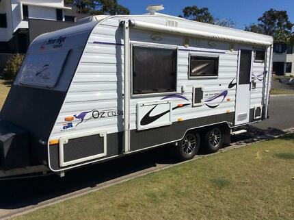 Caravan. 2013 New Age Classic 18 Series Arundel Gold Coast City Preview