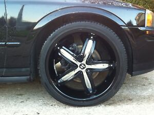 """20"""" RIMS with NEW RUBBER for sale"""