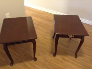 Side tables, bar stools, rocking chair