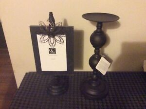 Decorative Picture Frame and Candle Holder set,brand new