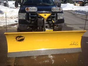 Ford F-250 2006 with new 2016 fisher plow