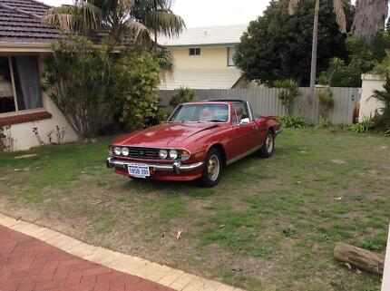 1974 Triumph Stag Convertible Yokine Stirling Area Preview