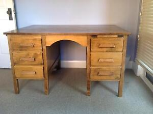 Solid timber desk Kensington Eastern Suburbs Preview