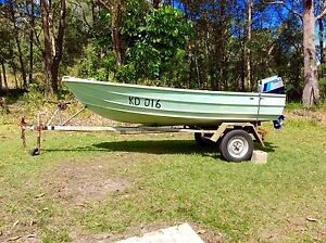 12ft Tinnie with Tohatsu 8hp motor Coolum Beach Noosa Area Preview