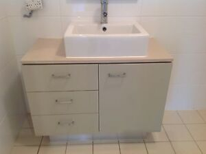 Bathroom vanity cabinet with basin and tap, 900x450x850 Breakfast Point Canada Bay Area Preview