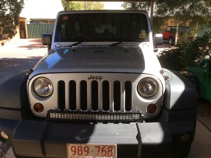 2011 Jeep Wrangler Unlimited 4X4 Soft top and Hard top included. Alice Springs Alice Springs Area Preview