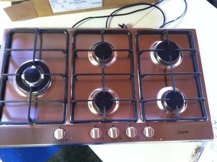 Zampetti Gas cook top with wok burner Hillston Carrathool Area Preview