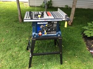 Table saw and 3 blades for $80