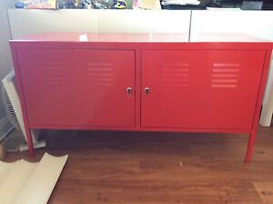 Red locker style cabinet Kanahooka Wollongong Area Preview