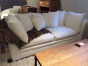Sofa divan canapé couch Biltmore en plumes