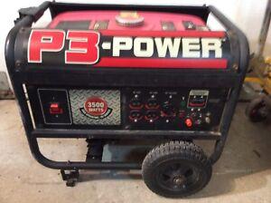 Generatrice p-3 power 3500 watts 120 et 240