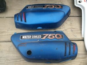 1972 Suzuki GT750 Kettle Left Right Sidecovers