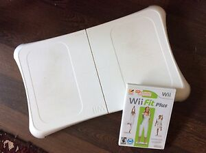 Wii fit board and Wii Fit Plus & 6 Games