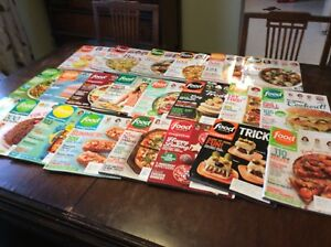 Food Network magazine bundle. 22 editions!