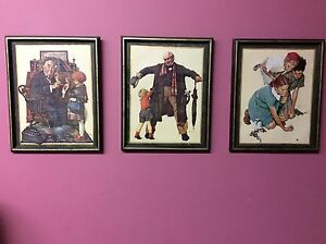 Norman Rockwell Framed Pictures