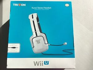 Wiiu gaming headset Collingwood Park Ipswich City Preview