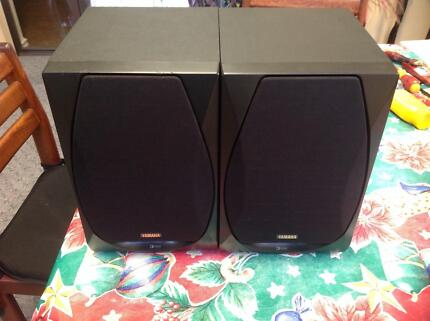 Yamaha 3-way Bookshelf Speakers NX-GX50 Stirling Stirling Area Preview