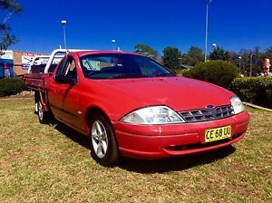 2002 Ford Falcon XLS super cab 5 speed LPG 1 tonner Ute Woodbine Campbelltown Area Preview