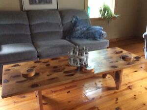 Couches, matching chair + coffee table $400 for 4
