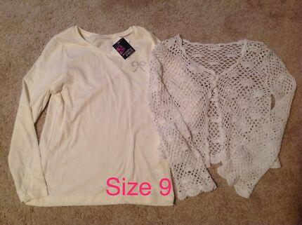 Size 9 Girls Clothes Bundle.
