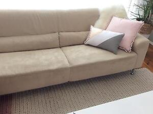 3 seat fabric sofa,excellent condition CHERRYBROOK Cherrybrook Hornsby Area Preview