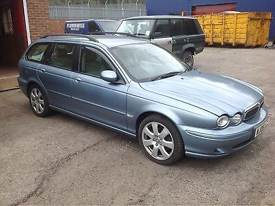 JAGUAR X TYPE DIESEL ESTATE 2006 BREAKING ALL PARTS SPARES CAT C D WHEEL