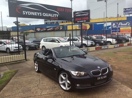 2008 BMW 335i CONVERTIBLE Homebush Strathfield Area Preview