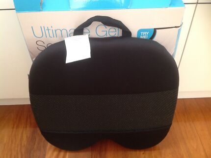 Ultimate Gel Seat cushion - comfort deluxe memory foam - new